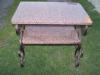 Stół - blaty granitowe(balmoral), elementy kute